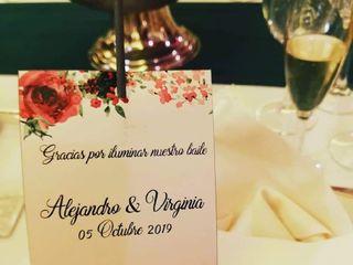 La boda de Virginia  y Alejandro  1