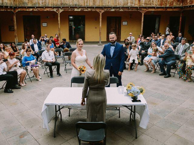 La boda de Dani y Renata en Los Silos, Santa Cruz de Tenerife 19