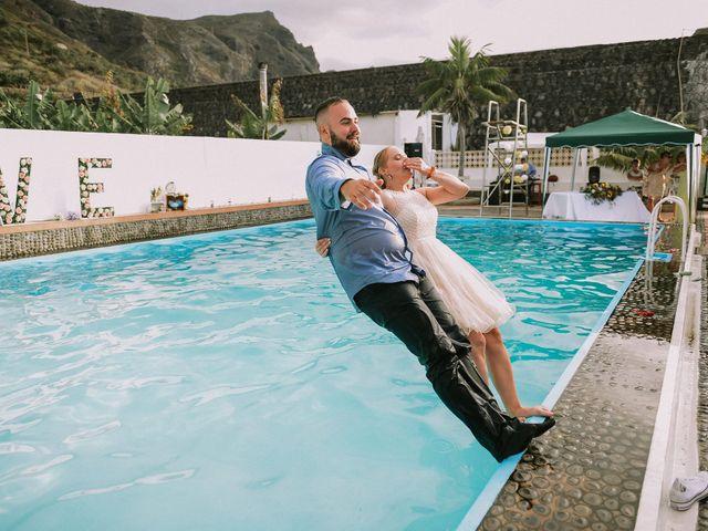La boda de Dani y Renata en Los Silos, Santa Cruz de Tenerife 33