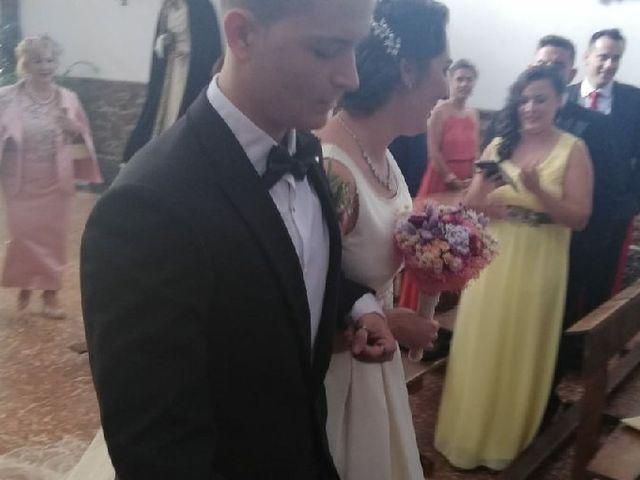 La boda de Alejandro  y Virginia  en El Robledo, Cáceres 6