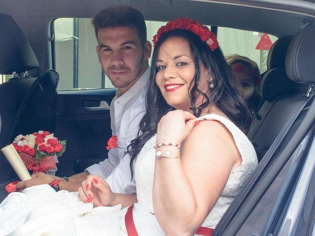 La boda de Israel y Esmeralda en Matalascañas, Huelva 7