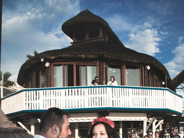 La boda de Israel y Esmeralda en Matalascañas, Huelva 18