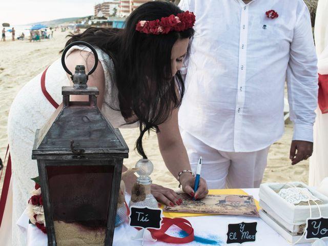 La boda de Israel y Esmeralda en Matalascañas, Huelva 27