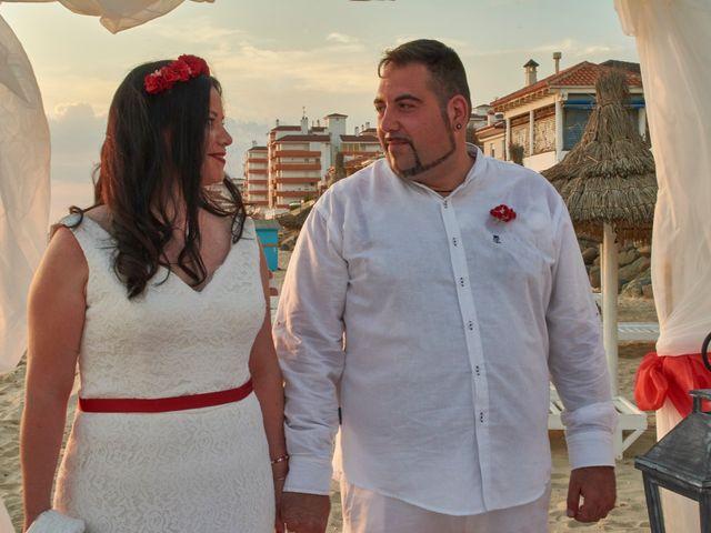 La boda de Israel y Esmeralda en Matalascañas, Huelva 35