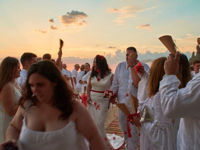 La boda de Israel y Esmeralda en Matalascañas, Huelva 36