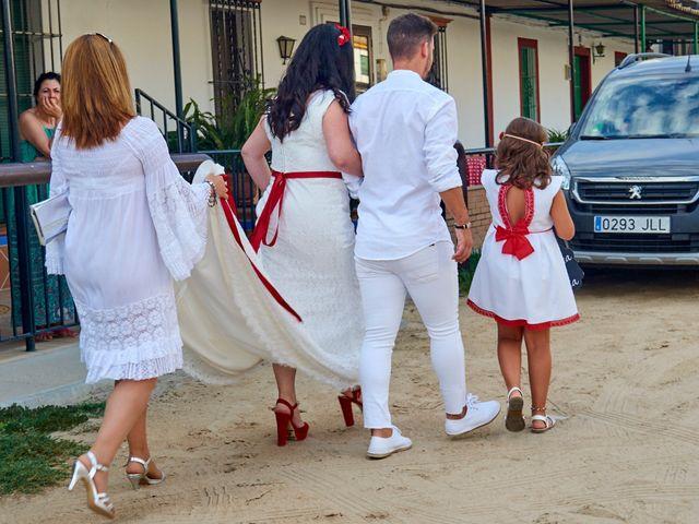 La boda de Israel y Esmeralda en Matalascañas, Huelva 53