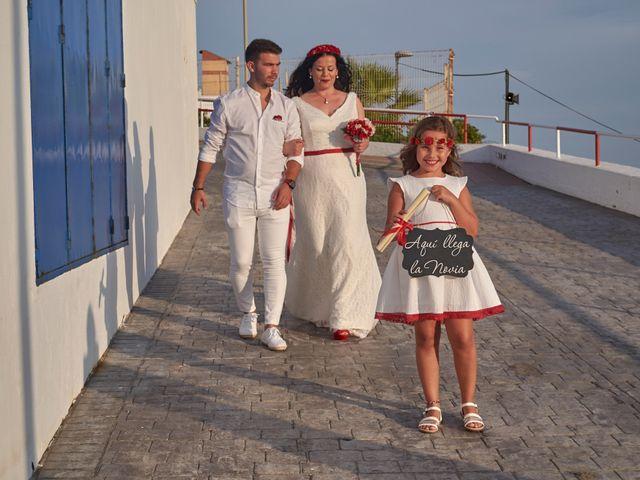 La boda de Israel y Esmeralda en Matalascañas, Huelva 56