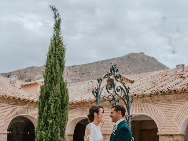 La boda de Francisco y Gwendolyne en Olula Del Rio, Almería 48