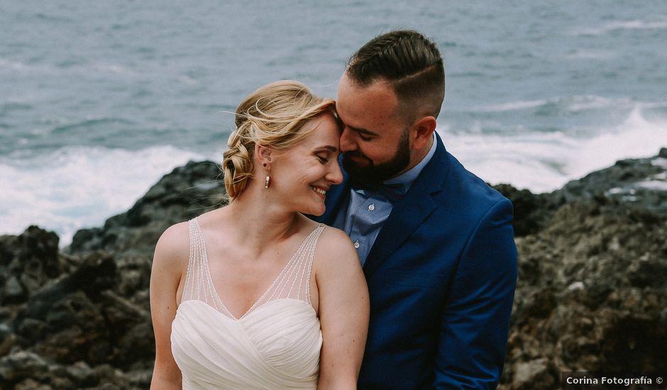 La boda de Dani y Renata en Los Silos, Santa Cruz de Tenerife