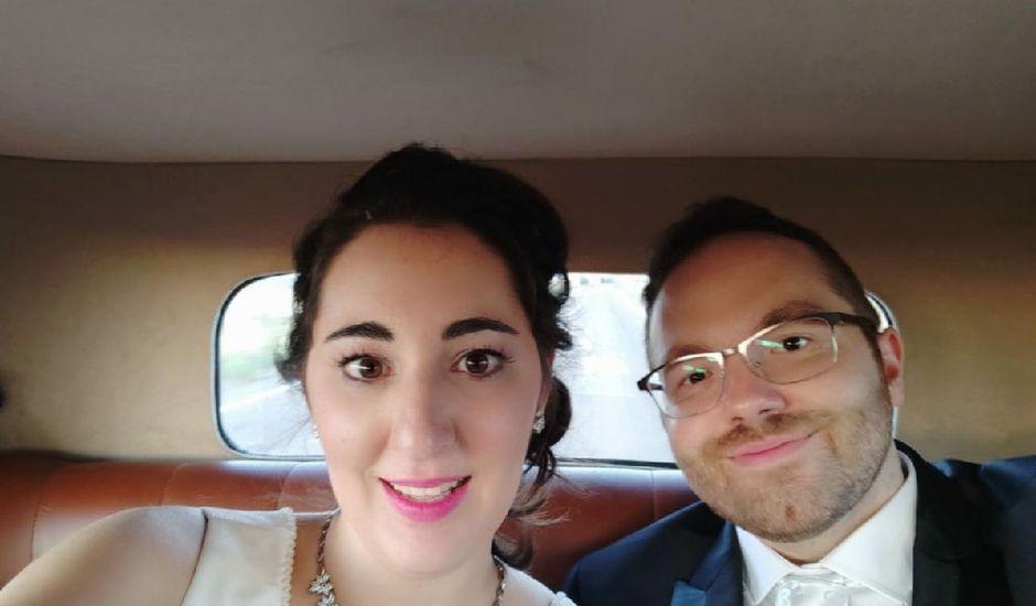 La boda de Alejandro  y Virginia  en El Robledo, Cáceres