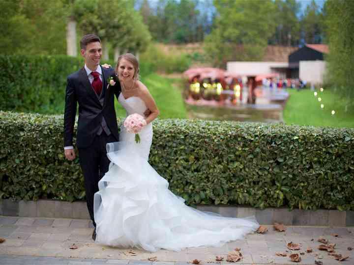La boda de Zhanna y Dani