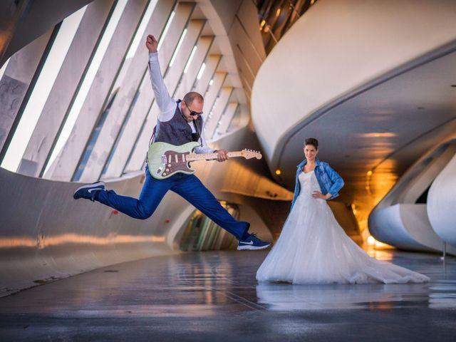 La boda de Julio y Veronica en Zaragoza, Zaragoza 33