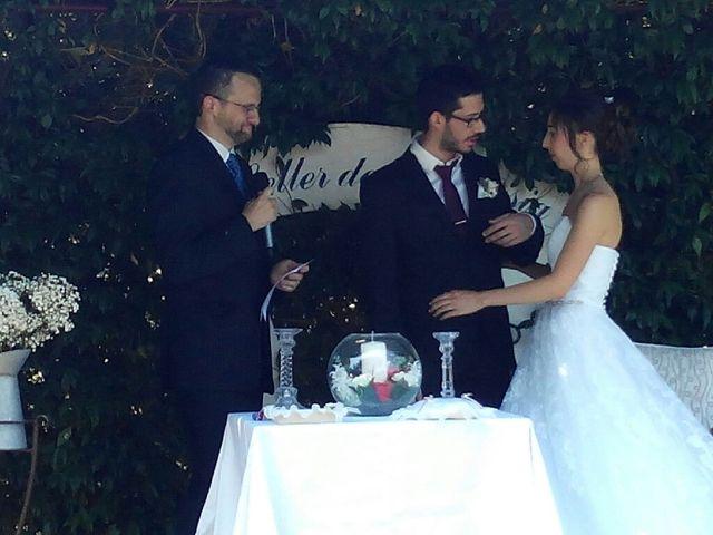 La boda de Jose Luis Martinez y Alba Grabulosa en Pueblo Sant Climent De Peralta, Girona 1