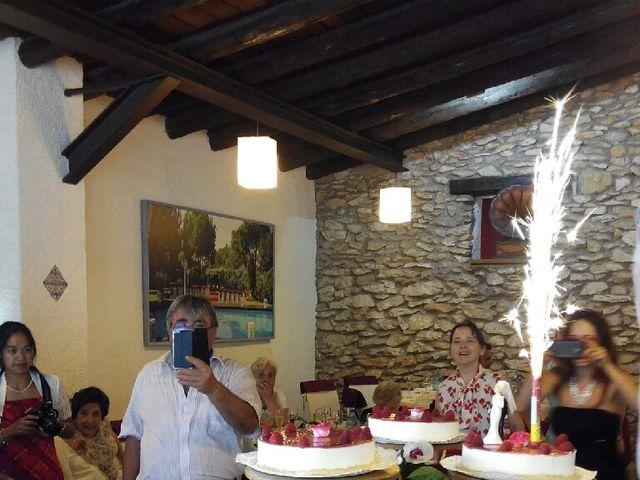 La boda de Jose Luis Martinez y Alba Grabulosa en Pueblo Sant Climent De Peralta, Girona 6