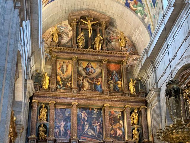 La boda de Elena y Jesús en San Lorenzo De El Escorial, Madrid 6