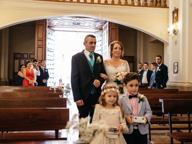 La boda de Salvador y Mónica en Calzada De Calatrava, Ciudad Real 39