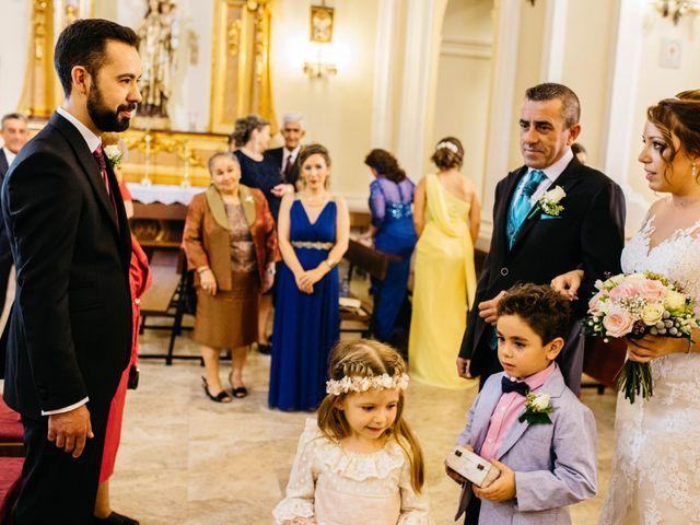 La boda de Salvador y Mónica en Calzada De Calatrava, Ciudad Real 43