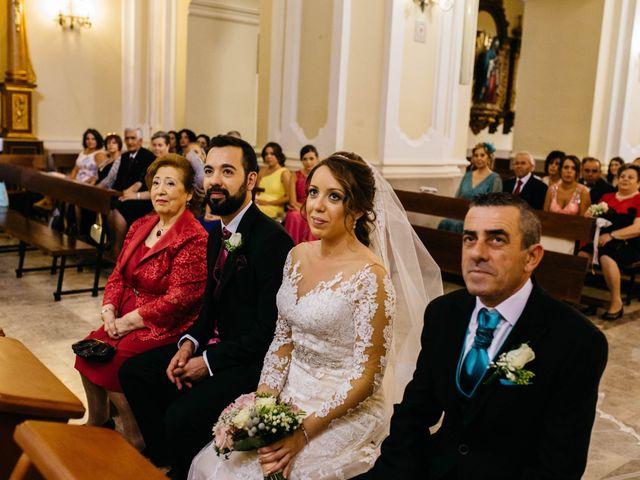 La boda de Salvador y Mónica en Calzada De Calatrava, Ciudad Real 49