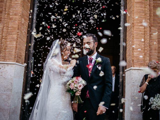 La boda de Salvador y Mónica en Calzada De Calatrava, Ciudad Real 60