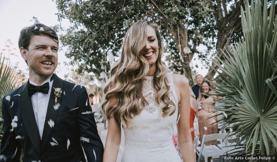 La boda de Daniel y Patricia en Aguamarga, Almería