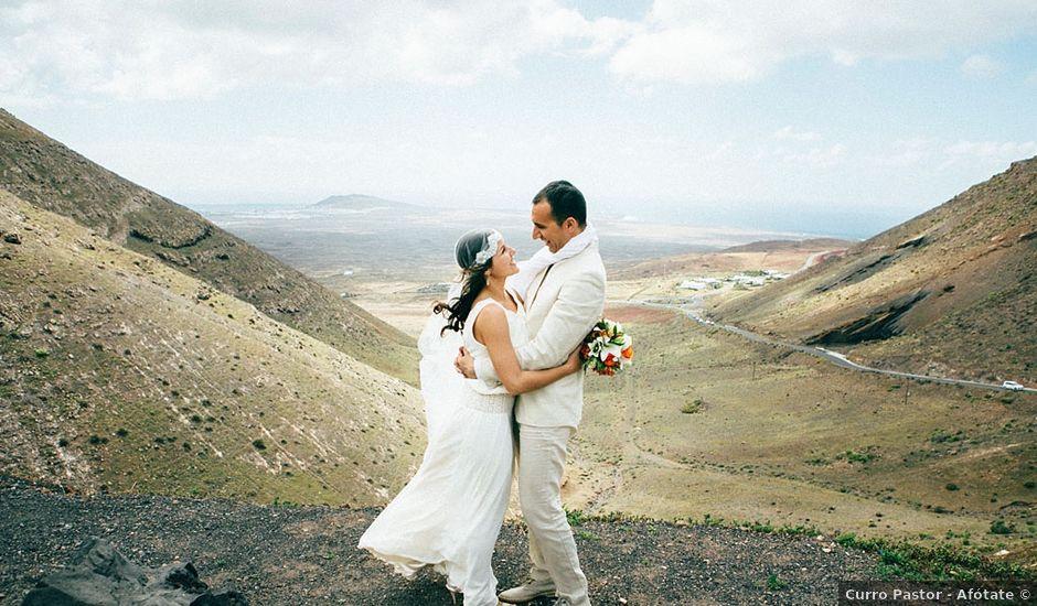 La boda de Jose y Emma en Yaiza, Las Palmas