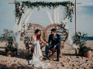 La boda de Gise y Sergio