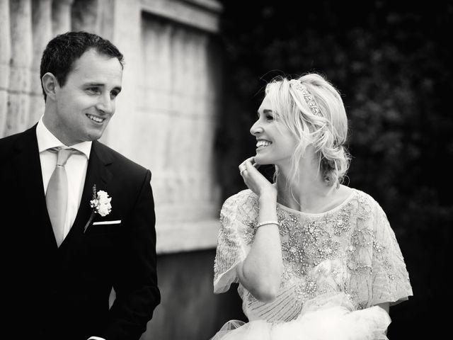 La boda de Caroline y Mike