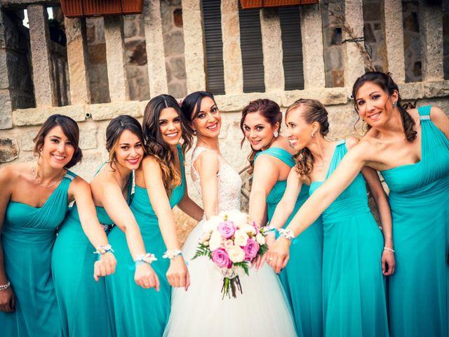 La boda de Javi y Virginia en El Berrueco, Madrid 33