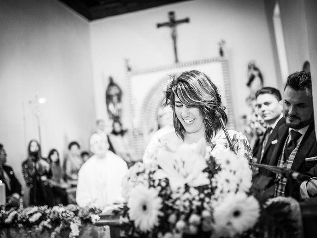 La boda de Javi y Virginia en El Berrueco, Madrid 45