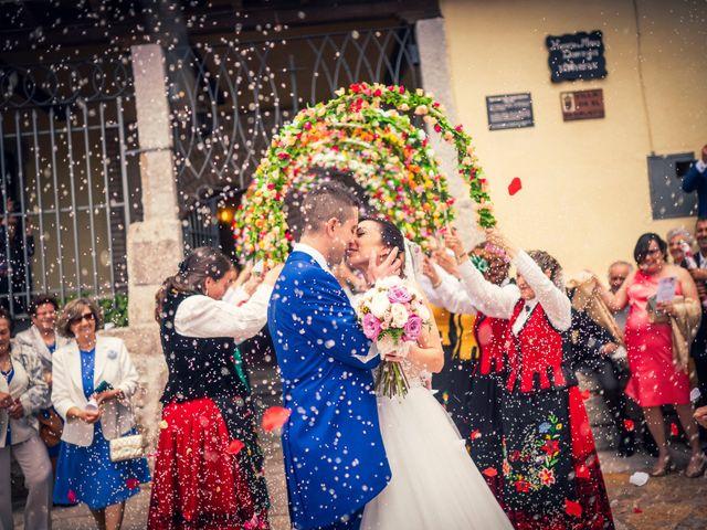 La boda de Javi y Virginia en El Berrueco, Madrid 63