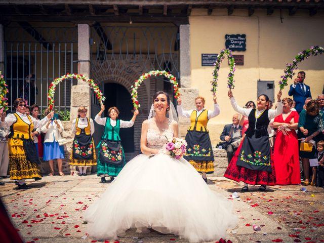 La boda de Javi y Virginia en El Berrueco, Madrid 66