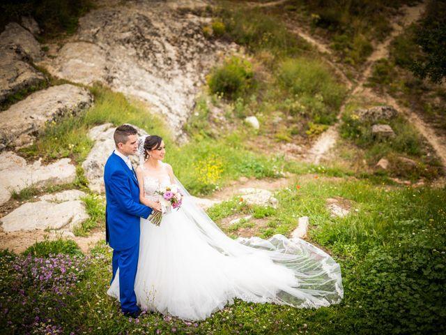 La boda de Javi y Virginia en El Berrueco, Madrid 73