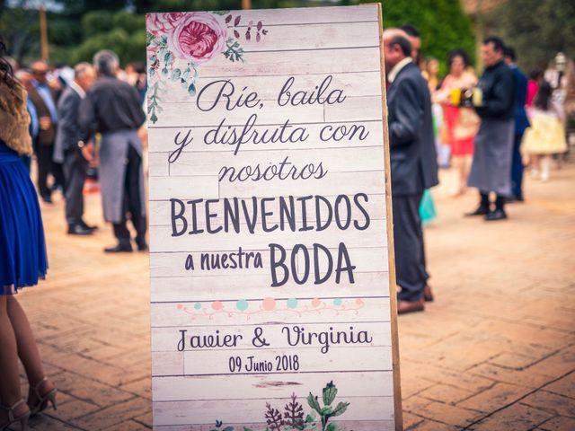 La boda de Javi y Virginia en El Berrueco, Madrid 75