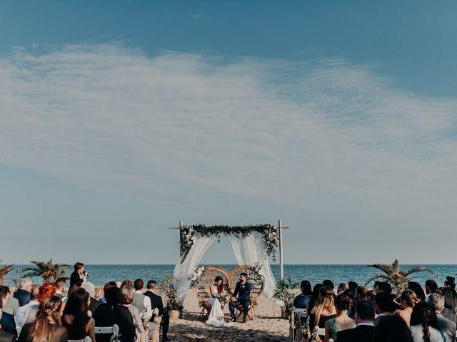 La boda de Sergio y Gise en Malgrat De Mar, Barcelona 1