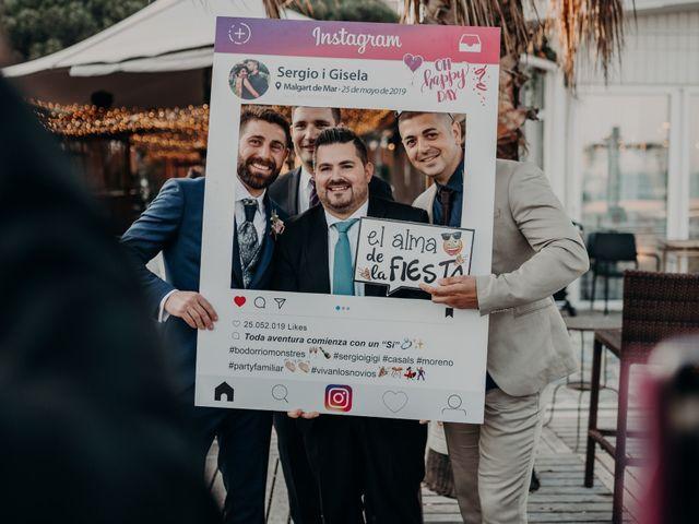 La boda de Sergio y Gise en Malgrat De Mar, Barcelona 41