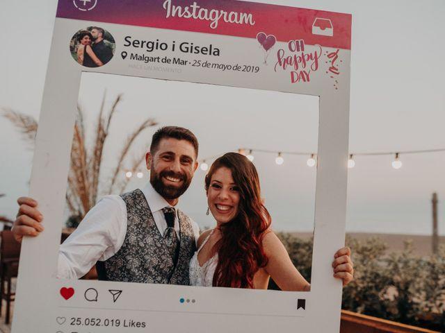 La boda de Sergio y Gise en Malgrat De Mar, Barcelona 44