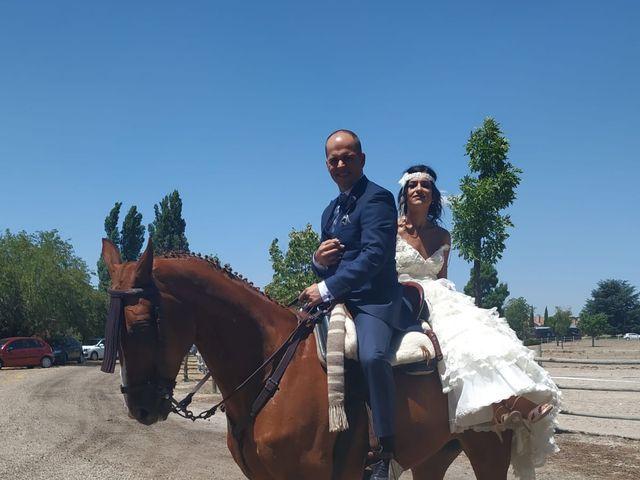 La boda de Jose jaime y  estela en Valdestillas, Valladolid 10