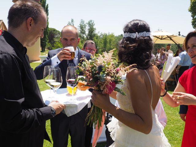 La boda de Jose jaime y  estela en Valdestillas, Valladolid 11