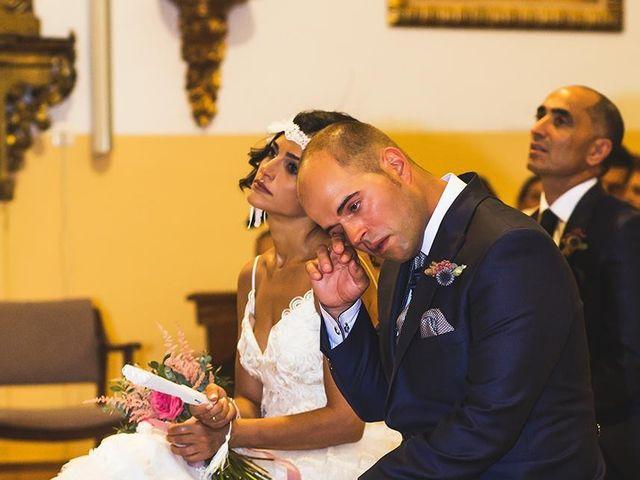La boda de Jose jaime y  estela en Valdestillas, Valladolid 12