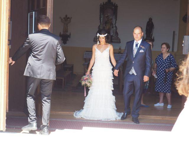 La boda de Jose jaime y  estela en Valdestillas, Valladolid 14