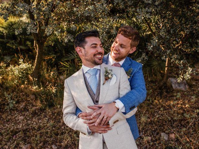 La boda de Alberto y Matt