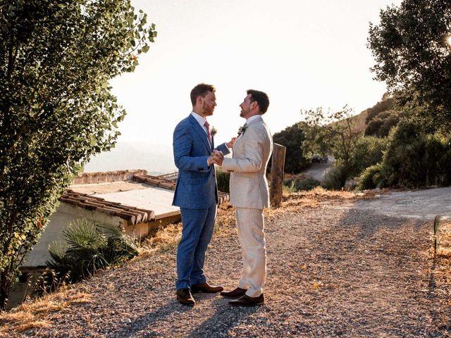 La boda de Matt y Alberto en La Joya Nogales, Málaga 26