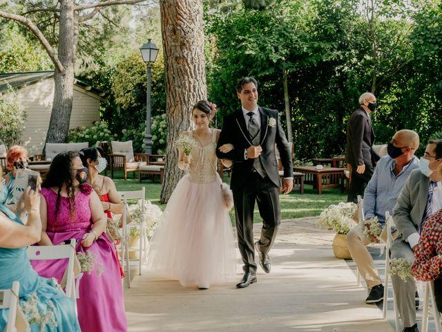 La boda de Carmen y Óscar en Guadarrama, Madrid 28