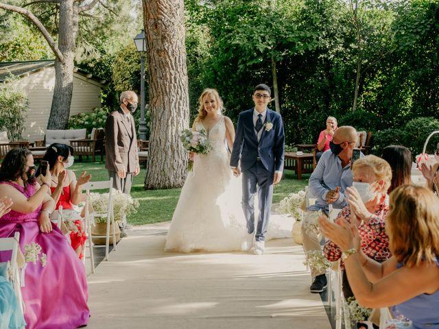 La boda de Carmen y Óscar en Guadarrama, Madrid 31