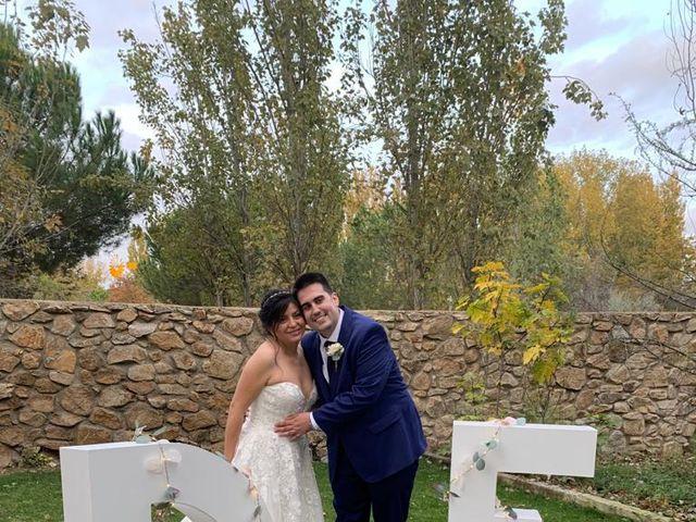 La boda de David y Erika en El Berrueco, Madrid 2