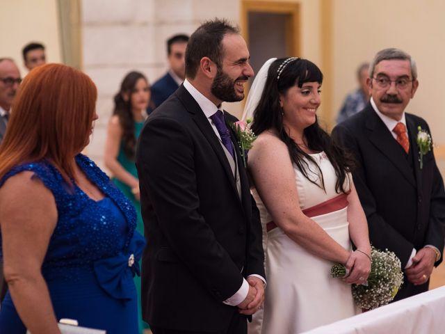 La boda de David y Vanessa en Landete, Cuenca 13