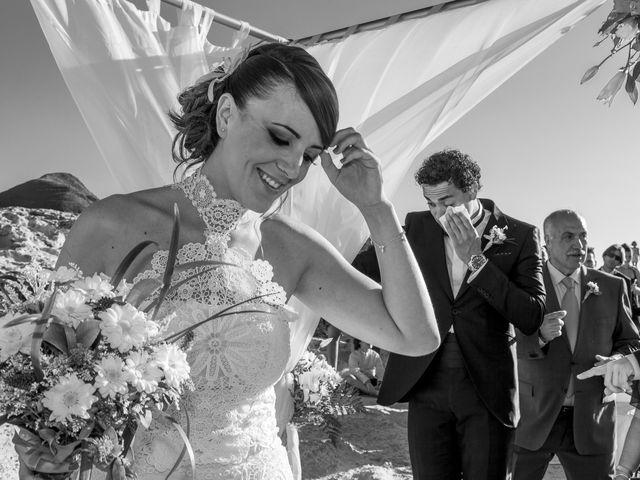 La boda de Diego y Susana en Los Escullos, Almería 15
