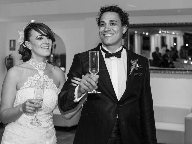 La boda de Diego y Susana en Los Escullos, Almería 33