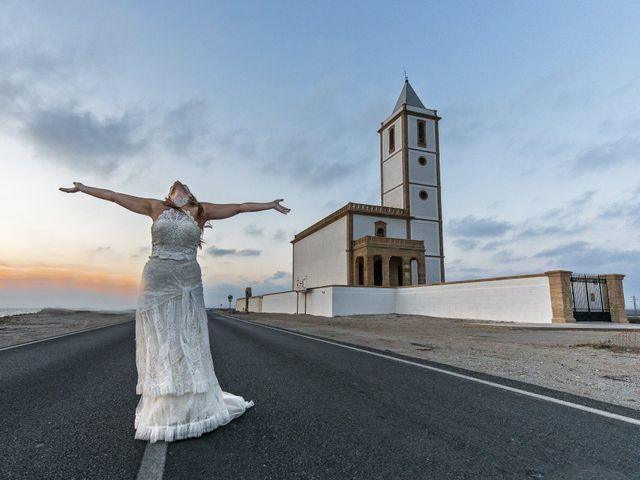 La boda de Diego y Susana en Los Escullos, Almería 48