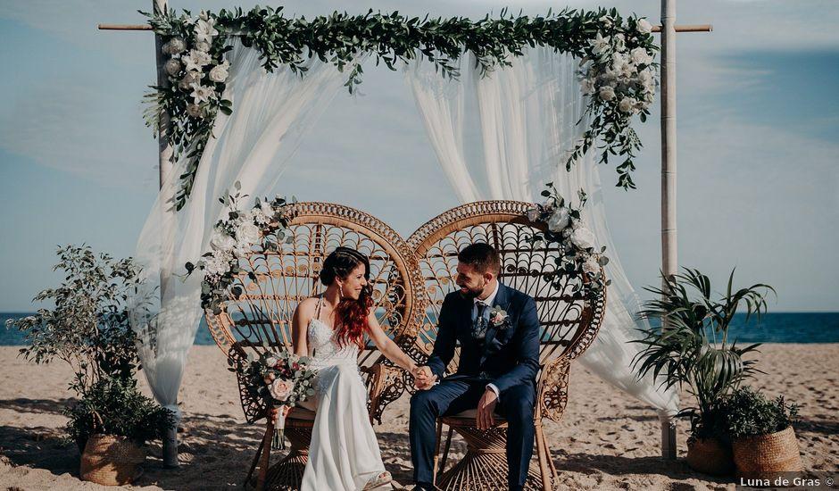 La boda de Sergio y Gise en Malgrat De Mar, Barcelona